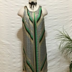 Shimmering sleeveless dress